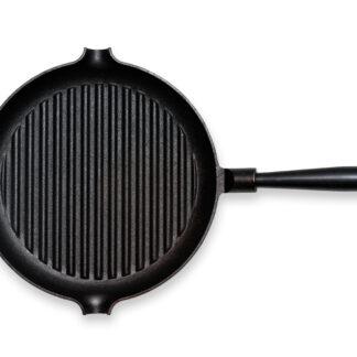 Gense Le Gourmet Grillpanna med Stålhandtag D: 28 cm Gjutjärn