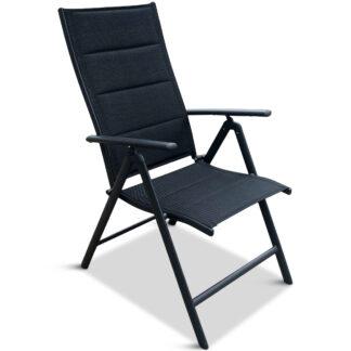 Positionsstol i aluminium - 4-pack