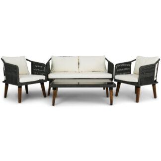 Retro loungeset repmöbler