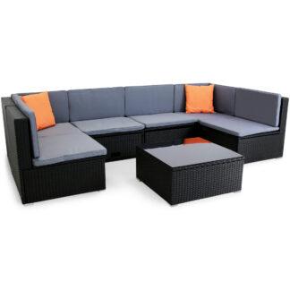 U-format loungeset | Smart inbyggd förvaring | Konstrotting