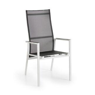 Avanti positionsstol vit/grå