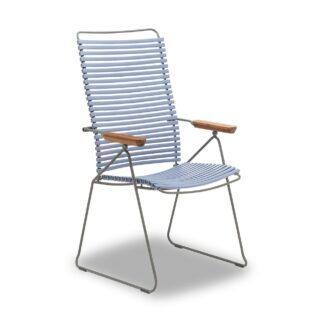 Click positionsstol duvblå