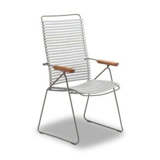 Click positionsstol grå