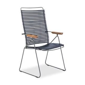Click positionsstol mörkblå