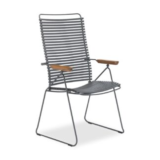 Click positionsstol mörkgrå