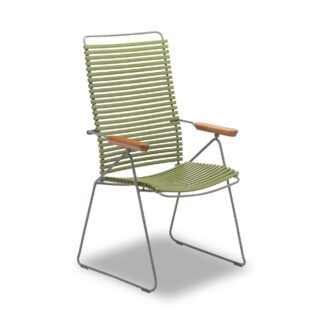 Click positionsstol olivgrön