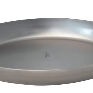 De Buyer Mineral B Oval Stekpanna D:21 cm Kolstål Grå
