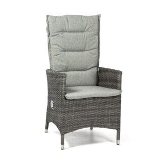 Georgia positionsstol antracitgrå med ljusgrå dyna