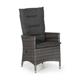 Georgia positionsstol antracitgrå med mörkgrå dyna