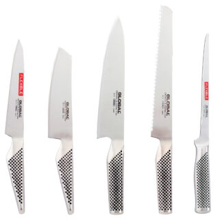 Global Knivset med 7 Knivar