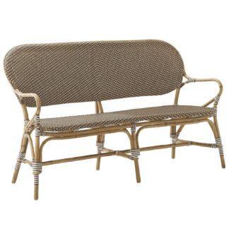 Isabell soffa rotting / brun konstrotting