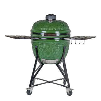 """Grill Maxi 25"""" med tillbehör Grön"""